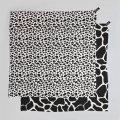 Látkové plenky - Mušelínové plenky velké WILD B&W Leopard&Giraffe, 2 ks - KLRK-SWDLR-BWLG-W