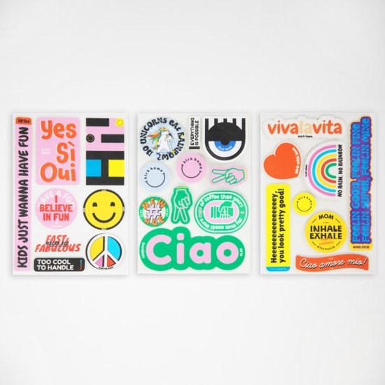 DEKORACE - KLRK Labels #1, 26 ks - KLRK-NZHLVC1-CO