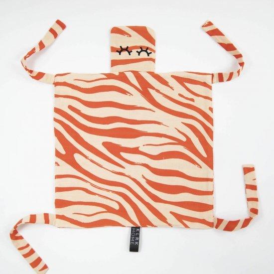 DOPLŇKY - GUSTAV - Mazlící dečka WILD COLOR Zebra, 1 ks - KLRK-GSTV-CLRL-W