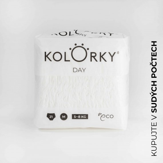 DAY - KOLORKY DAY - Nature - D-NATURE-M - Velikost M (5 - 8 kg)