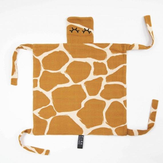 DOPLŇKY - GUSTAV - Mazlící dečka WILD COLOR Giraffe, 1 ks - KLRK-GSTV-CLRG-W